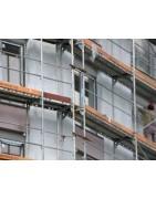 Protección de andamios en rehabilitaciones